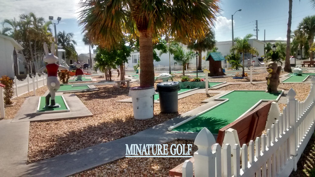 Minature-Golf